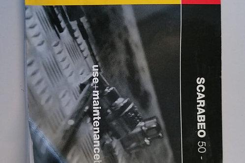 LIBRETTO USO E MANUTENZIONE APRILIA SCARABEO 50-100 4T