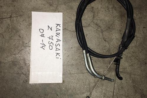 CAVI COMANDO ACCELERATORE USATI KAWASAKI Z 750 06-14