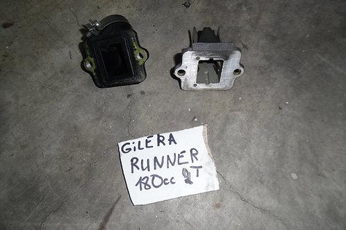 COLLETTORE ASPIRAZIONE+PACCO LAMELLARE GILERA RUNNER 125 180 2T