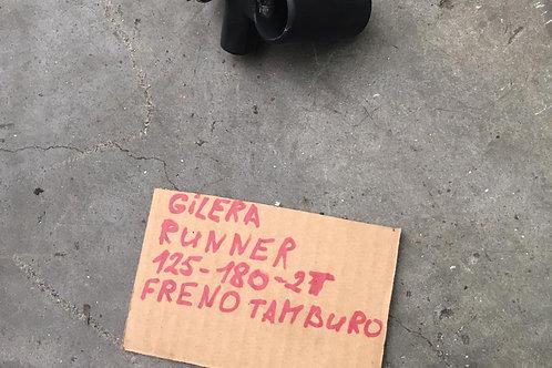 SUPPORTO LEVA FRENO POST GILERA RUNNER 125cc 180cc FRENO TAMBURO