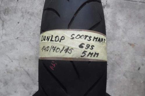 PNEUMATICO Dunlop Scootsmart 140-70-15 69S   usura 5mm