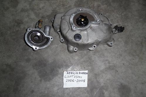 CARTER MOTORE CON POMPA ACQUA APRILIA SCARABEO 250cc 06 08