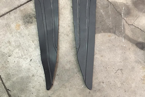 COPPIA TAPPETI IN GOMMA PEDANE USATE YAMAHA X MAX 125 250 10 13