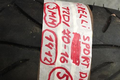 PNEUMATICO USATO PIRELLI SPORT DEMON 120 70 16 57P 3MM 14/2012