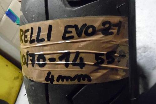 PNEUMATICO Pirelli EVO2 120-70-14 55P | usura 4mm