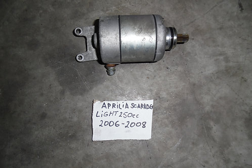 MOTORINO AVVIAMENTO USATO APRILIA SCARABEO LIGHT 200 250 300