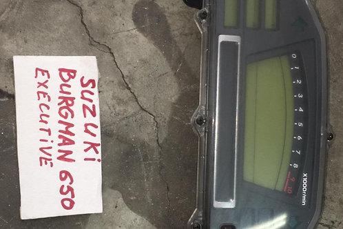 QUADRO STRUMENTI USATO SUZUKI BURGMAN 650 FINO AL 2013