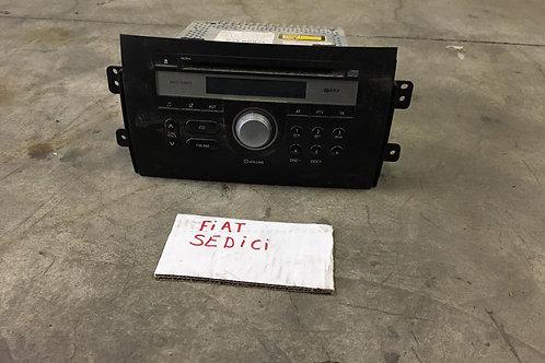 RADIO ORIGINALE USATA CON CD PER FIAT SEDICI
