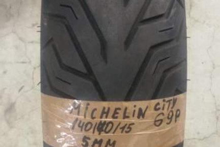 PNEUMATICO Michelin City Grip 140-70-15 69P | usura 5mm