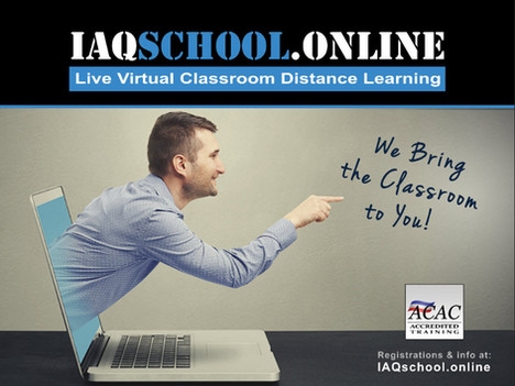 IAQschool.online kicks off 2018 with NYS Mold Refresher Online Classes