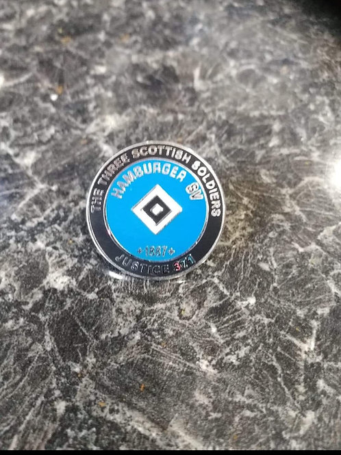 Hamburg sv football. justice371 badge