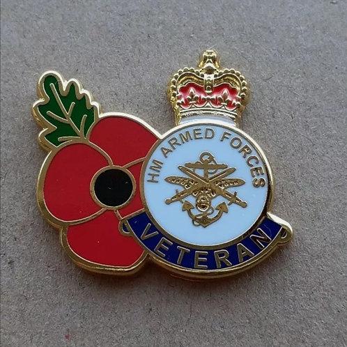 Veteran poppy pin