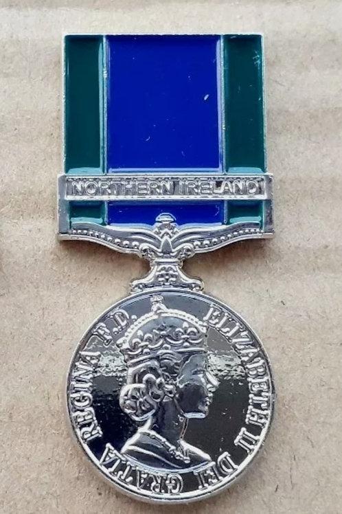 G. S. M NORTHERN IRELAND SERVICE PIN