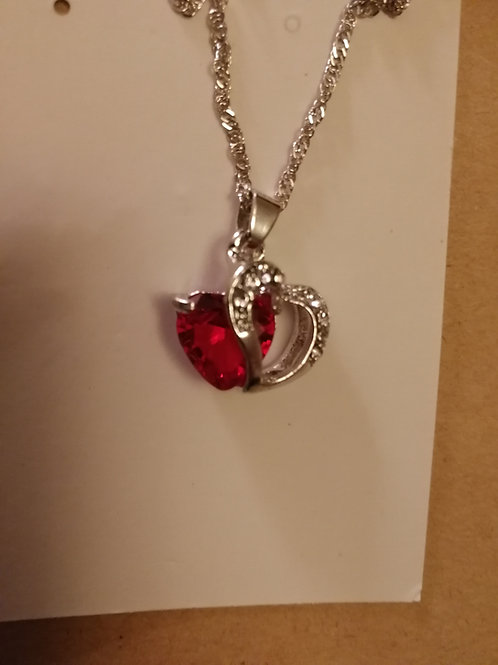 Always in our hearts necklace.