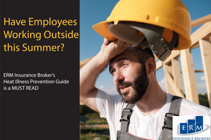 erm insurance brokers risk management heat stroke illness prevention program