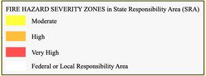 Fire Hazard Severity Zones California Fire Map