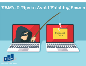 business insurance brokers want to prevent clients falling for phishing scams