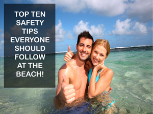 beach safety kids adults lifeguards ocean diving swimming