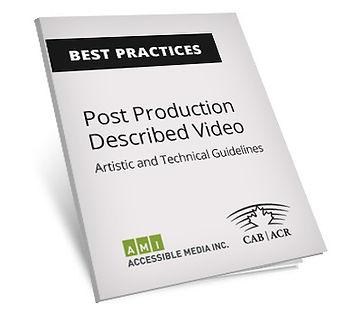 Described Video Best Practices