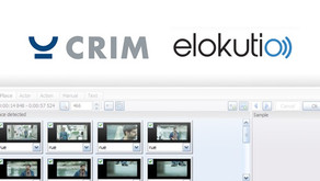 CRIM and elokutio join forces to make audio visual content accessible to all!