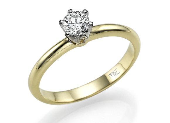 Side Crown 0.30 ct Diamond Ring