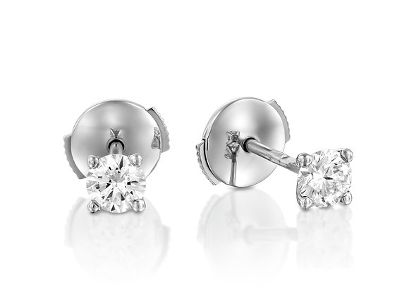0.50ct Diamonds Studs Earrings