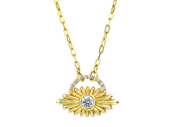 Evil Eye Diamond Necklace