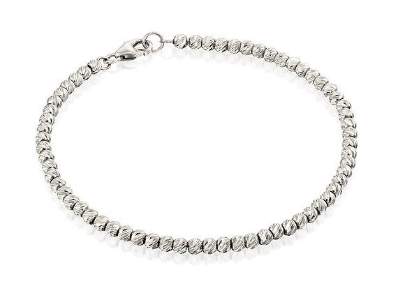 Dainty 14k Gold Shiny Stacking Bracelet