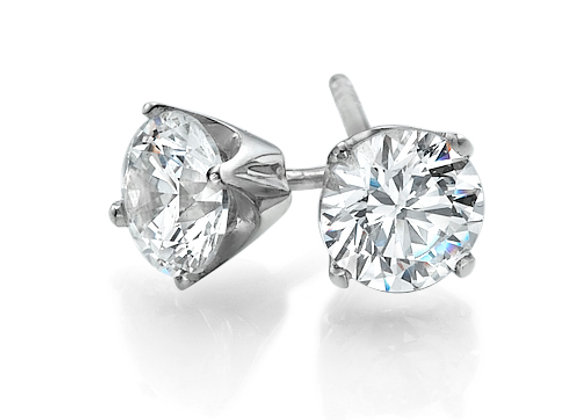 Studs Diamonds Earrings