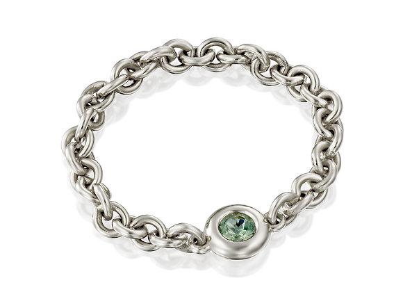 Sapphire Chain Ring