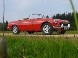 1973 MGB Roadster Flame Red (22)