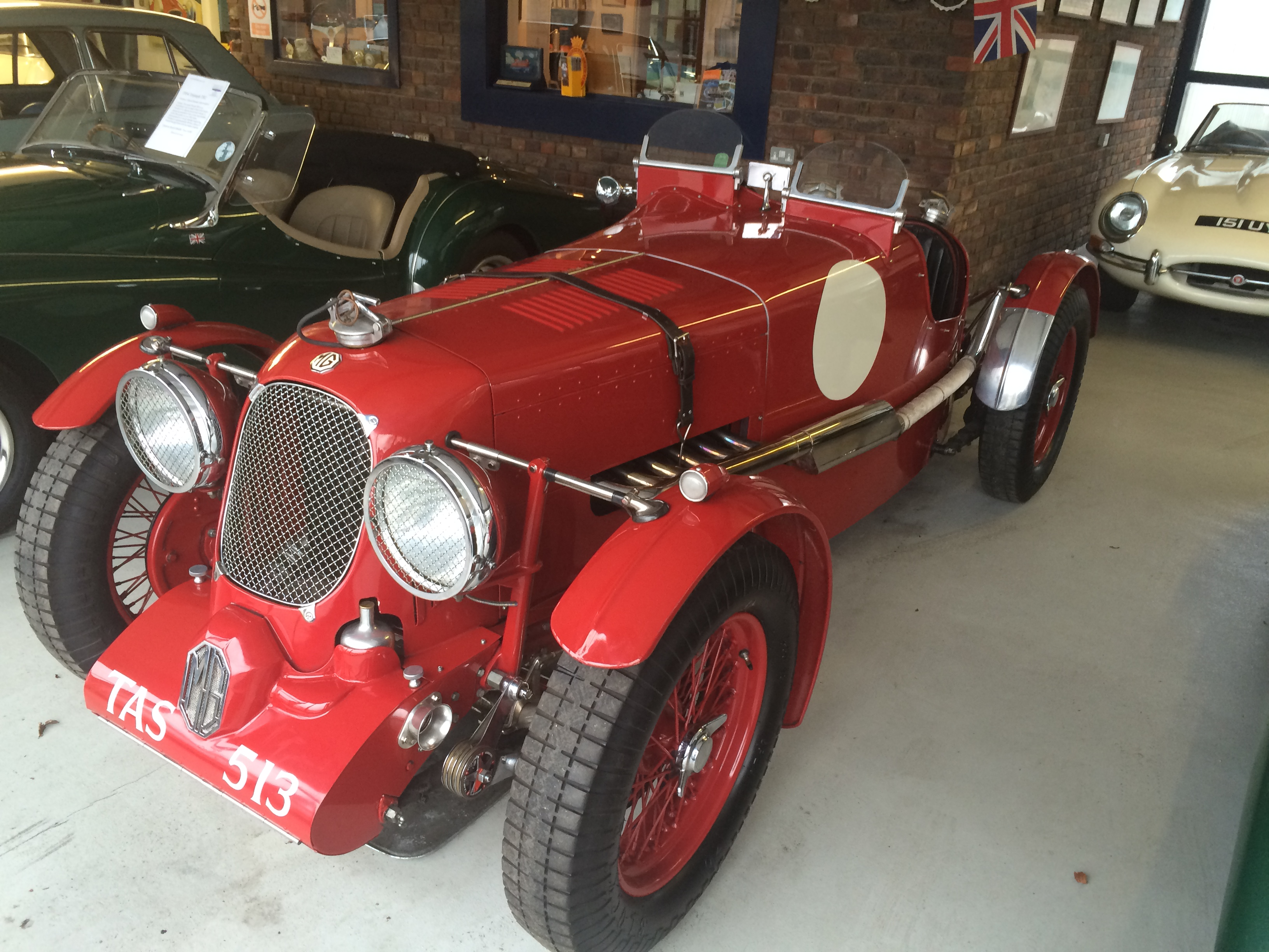 1933 MG L to K3 specification.