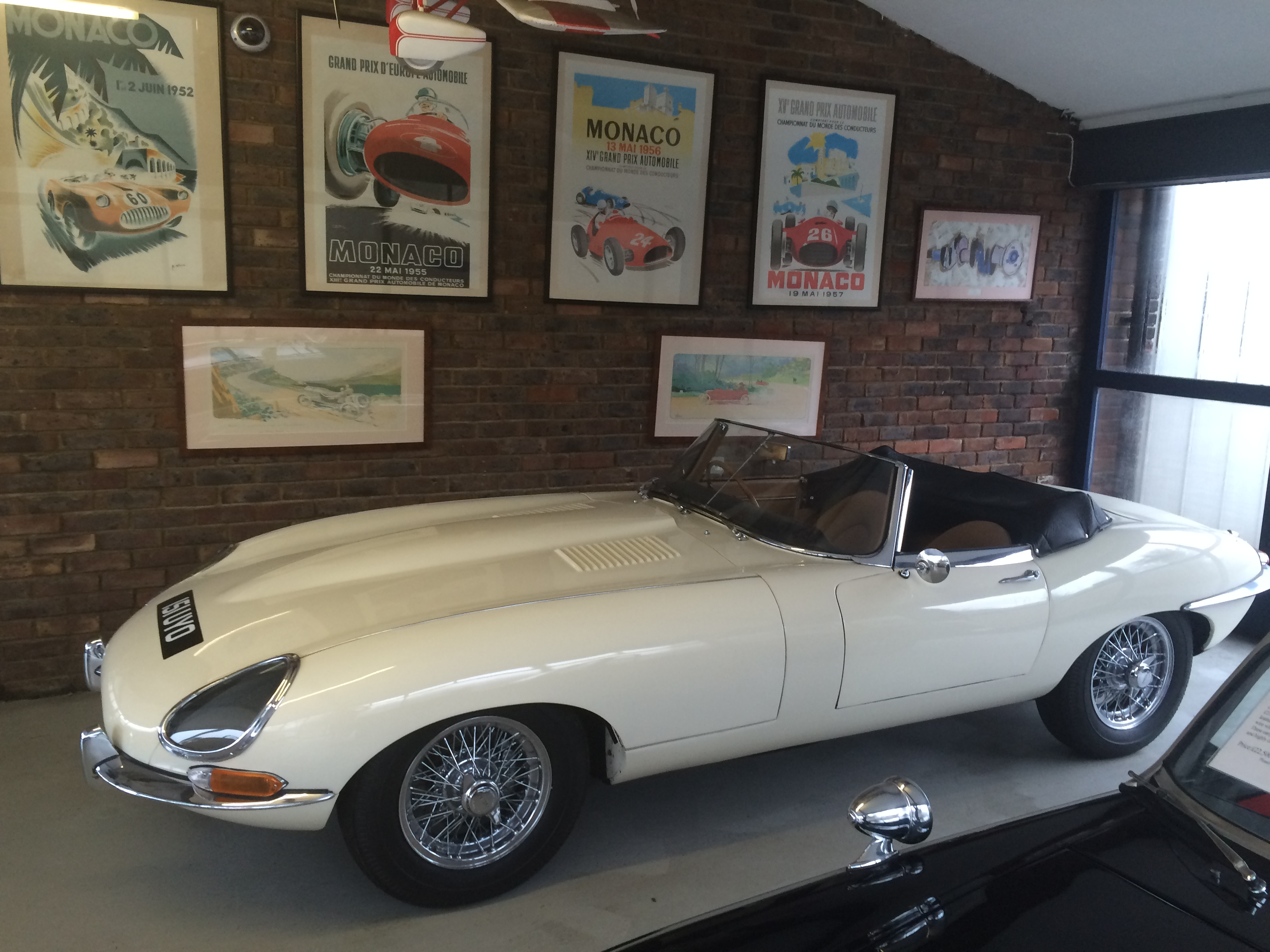 1962 JAGUAR E TYPE Roadster 3.8 S1