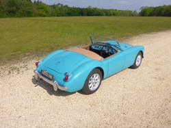 1958 MGA 1500 Glacier Blue (30)