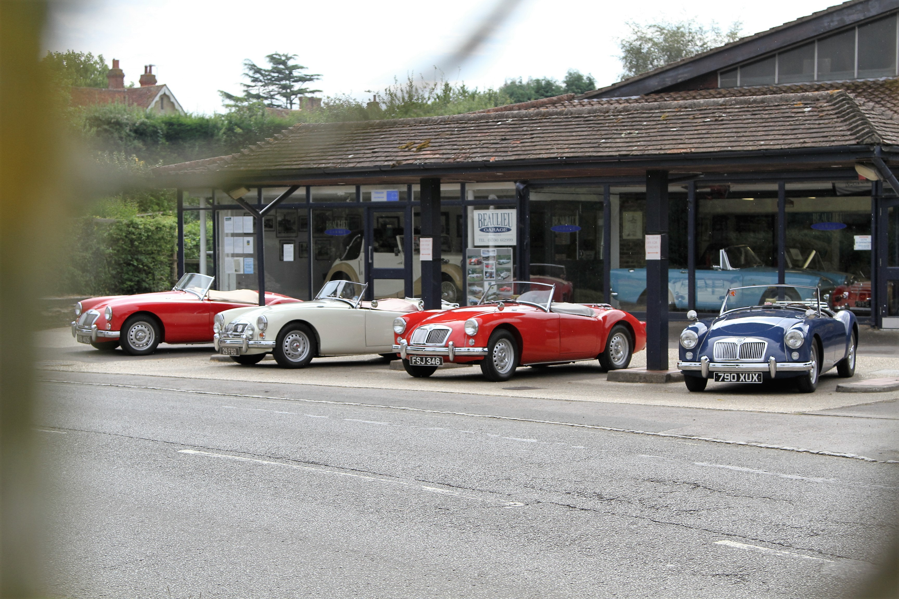 A rare MGA sighting!