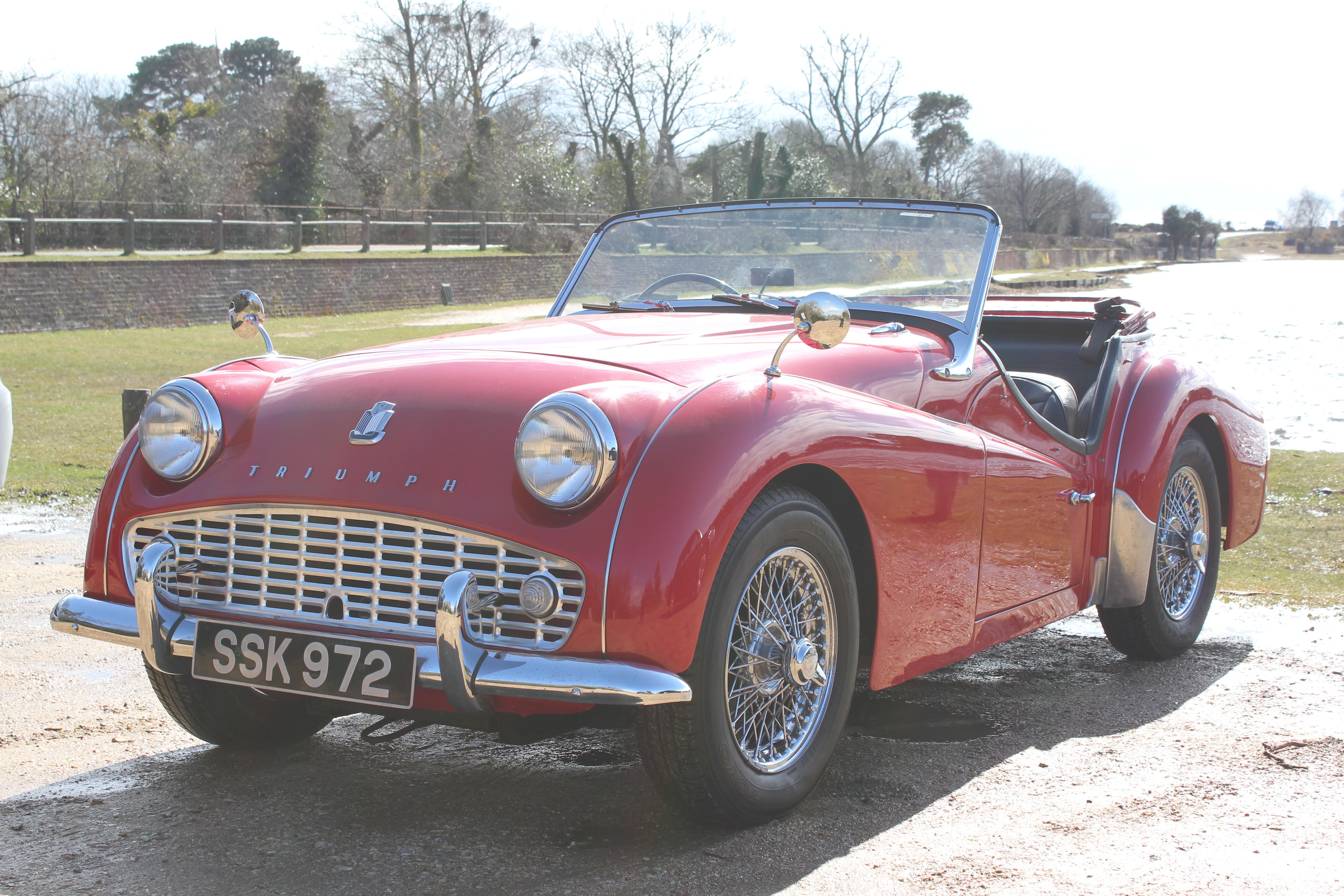 Beaulieu Garage - 1959 Triumph TR3a