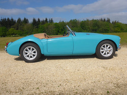 1958 MGA 1500 Glacier Blue (27)