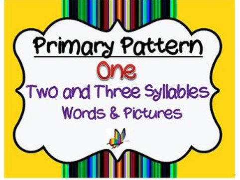 CYCLES: Pattern One - Two and Three Syllables