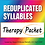 Thumbnail: Reduplicated Syllables Therapy Packet