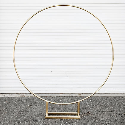 Gold Circle Arch