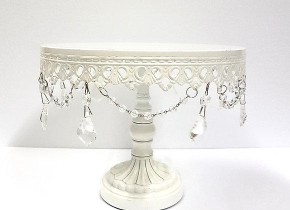 White Pedestal Plate 1