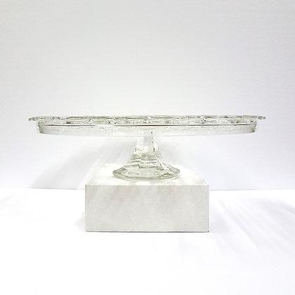 Crystal Pedestal Plate 1