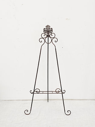 Wrought-Iron Easel - Small