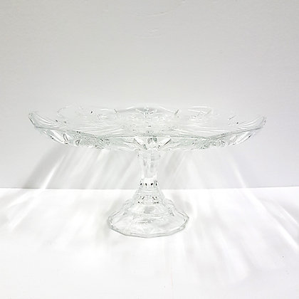 Crystal Pedestal Plate 2