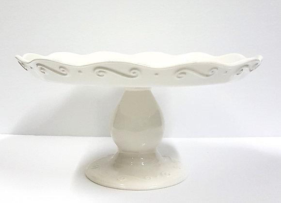 Ceramic Pedestal Plate