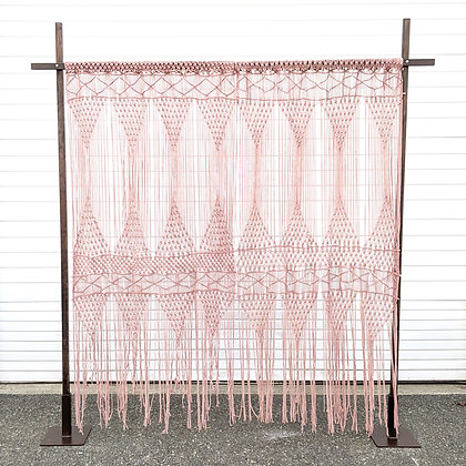 Macrame Arch 1 - Pink