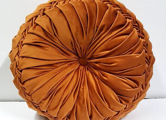Orange Circle Pillow