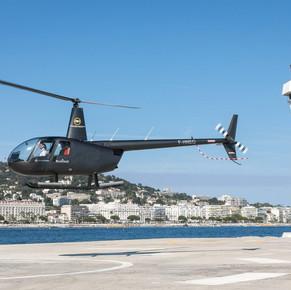 Baptême de vol en hélicoptère