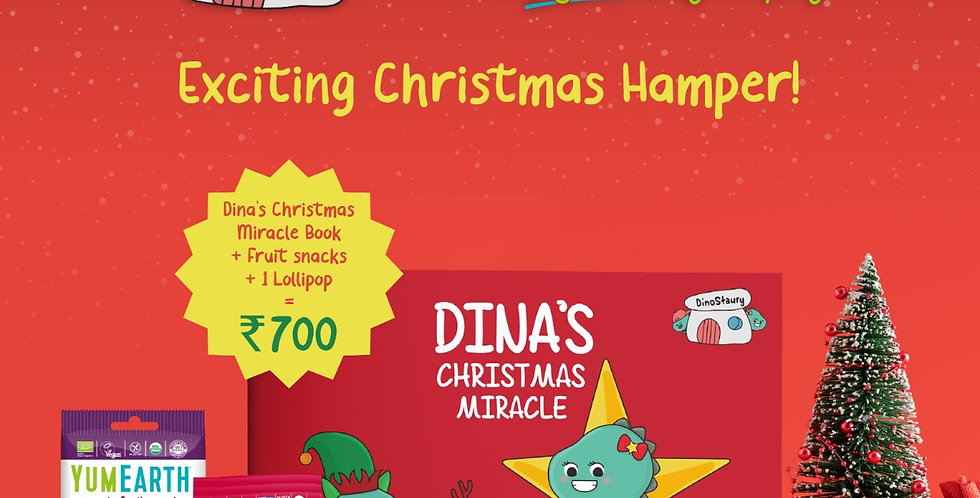 DELICIOUS CHRISTMAS HAMPER WITH YUMEARTH GOODIES