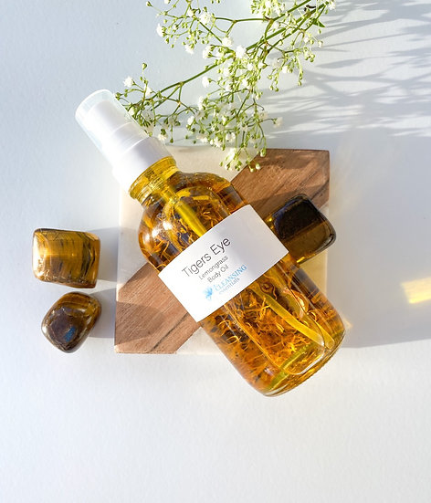 Tiger's Eye Body Oil